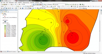 شرح ال Interpolation وطريقة IDW في برنامج ARC Gis